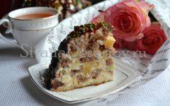 торт с фруктами по рецепту с фото