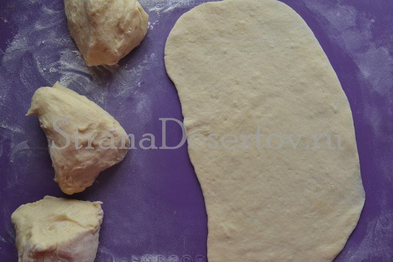 плюшки с сахаром рецепт фото