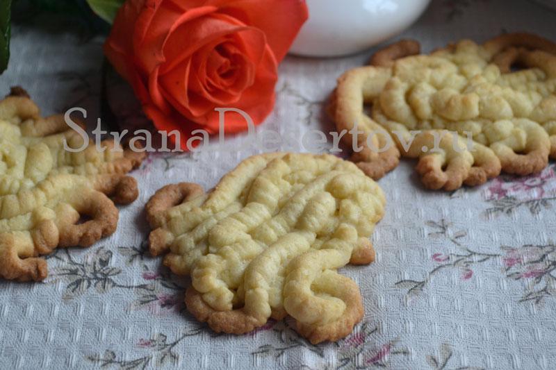 печенье через мясорубку по рецепту с фото