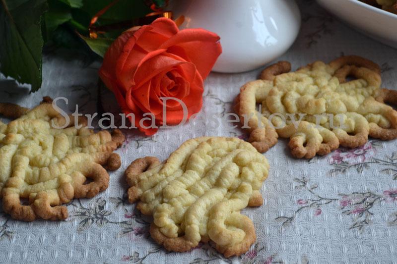 рецепт печенья домашнего через мясорубку