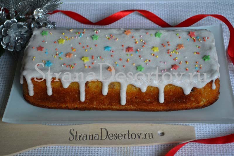 пасхальный кекс по пошаговому рецепту с фото