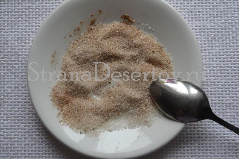 начинка из сахара и корицы