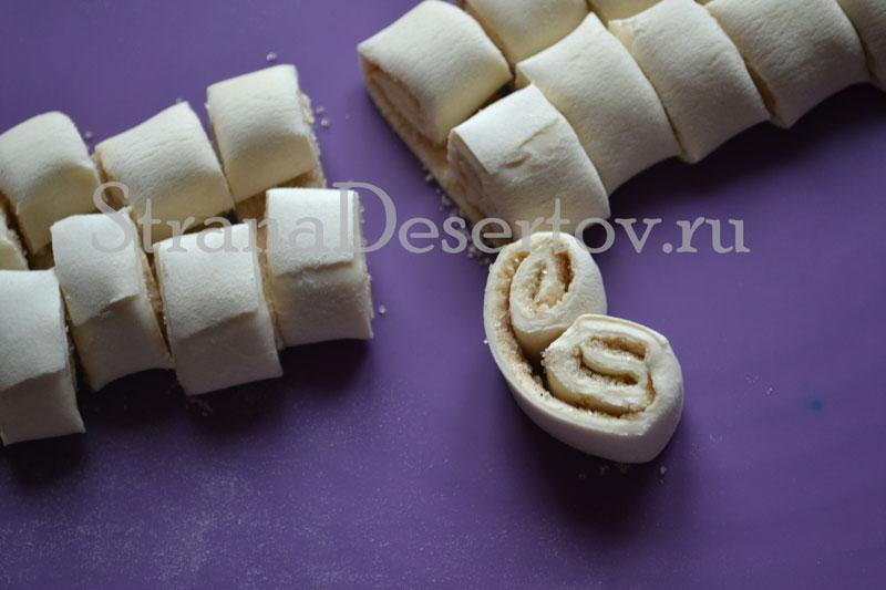нарезание печенья
