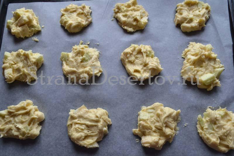 формирую печенье
