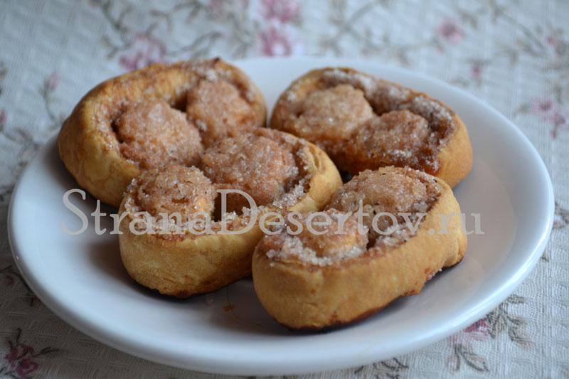 рецепт печенья ушки