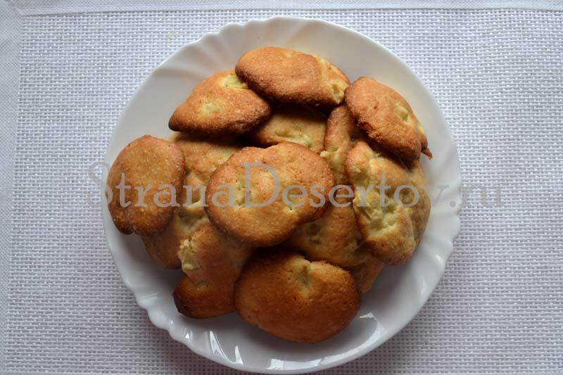 простое мягкое печенье