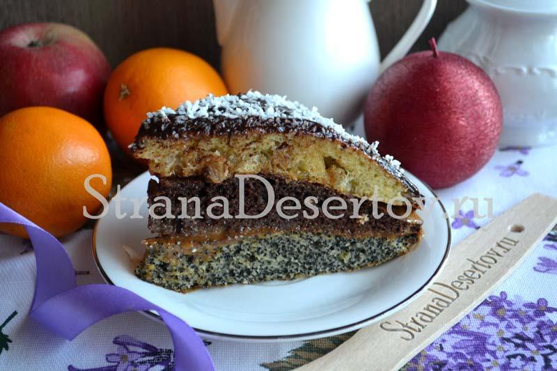 рецепт торта дамский каприз