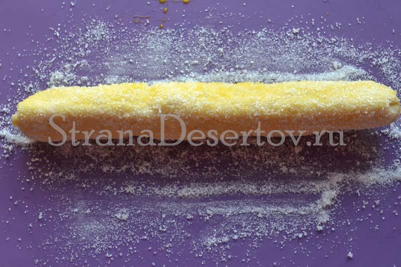 обваливание в сахаре
