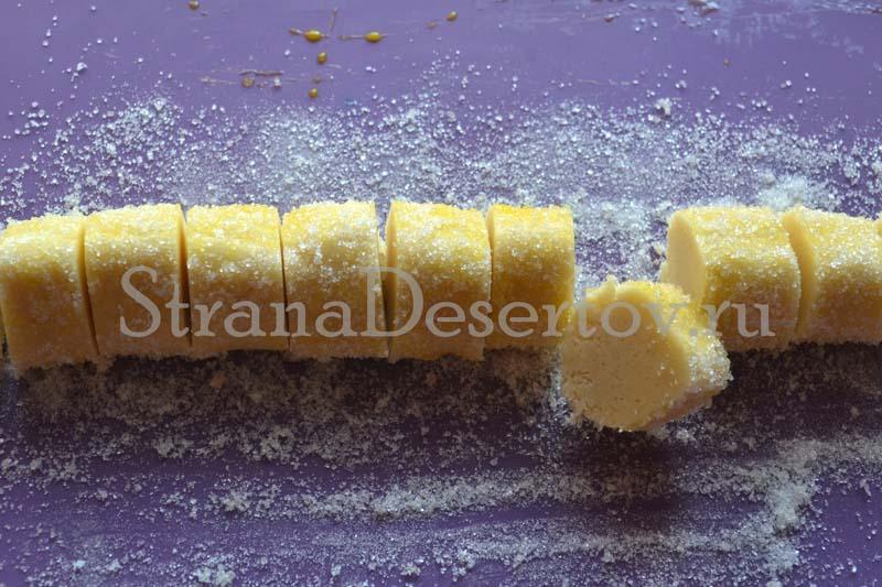 разрезание на печенья