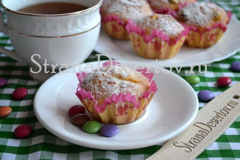 творожные кексы - рецепт с пошаговыми фото