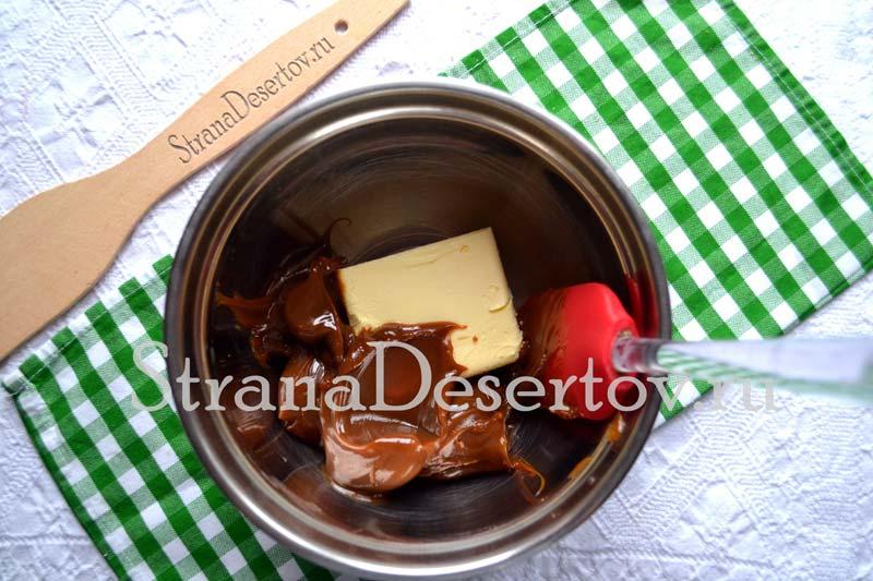 приготовление крема со сгущенкой