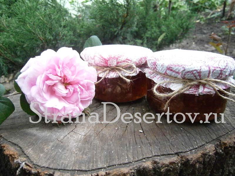варенье из розы
