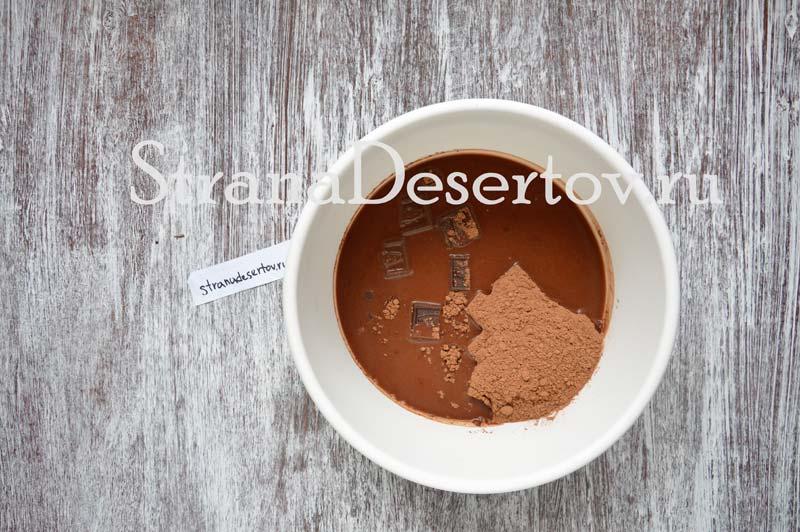 приготовление шоколадного теста