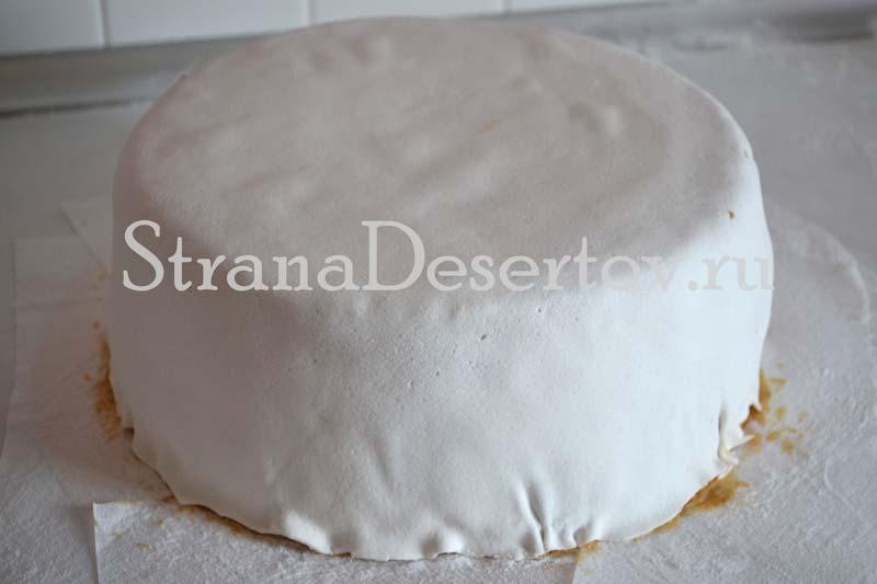 обтянутый тортик