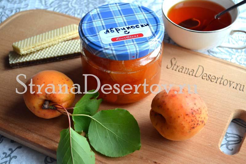 быстрое варенье из абрикос