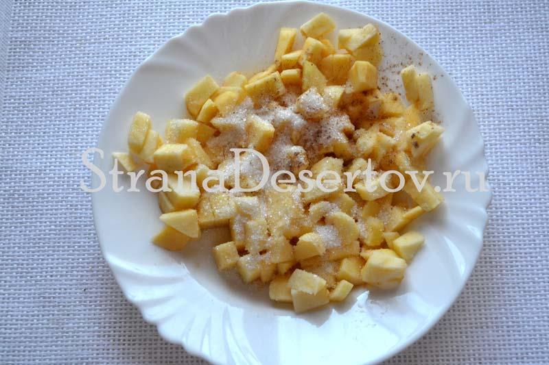 яблочная начинка для пирожков
