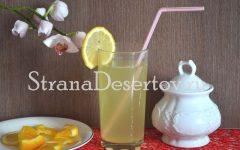 напиток из лимона и апельсина