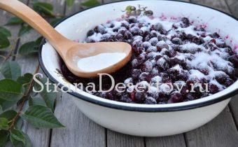 вишни оставить с сахаром