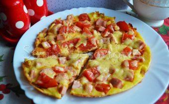 пицца на майонезе и сметане