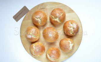 выпекание булочек в духовке