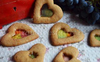 печенье валентинки