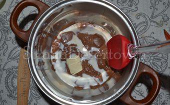 приготовление глазури из шоколада