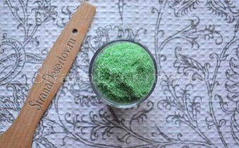 хранение цветного сахара