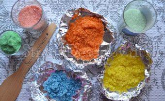 красочный сахар