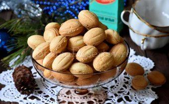 рецепт орешков со сгущенкой