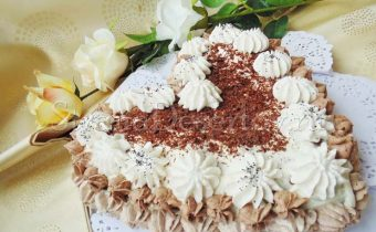 торт со сметаной
