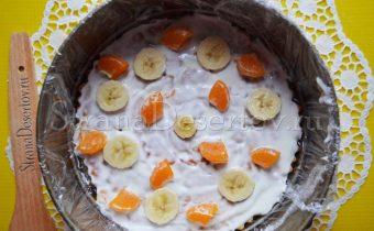 добавление фруктов