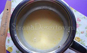 заваривание крема