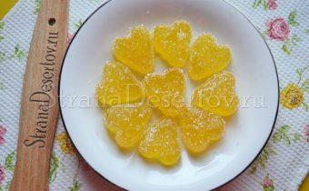 оранжевый мармелад