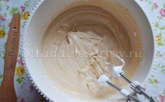 пышный крем для торта