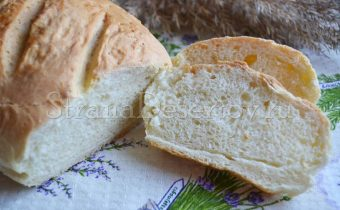 хлеб на сметане