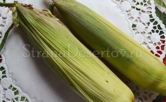 выбор початков кукурузы
