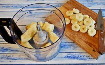 подготовка бананов