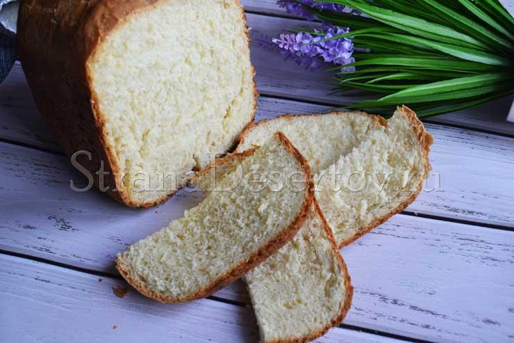 хлеб в хлебопечке на кефире